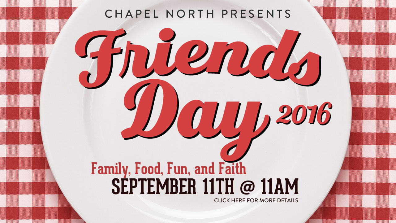 Friends Day 2016